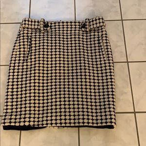 Banana Republic size 0 houndstooth skirt